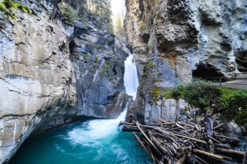 Upper Fall, Johnston Canyon