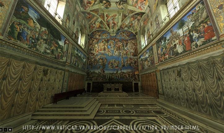 Sistine vatican 2