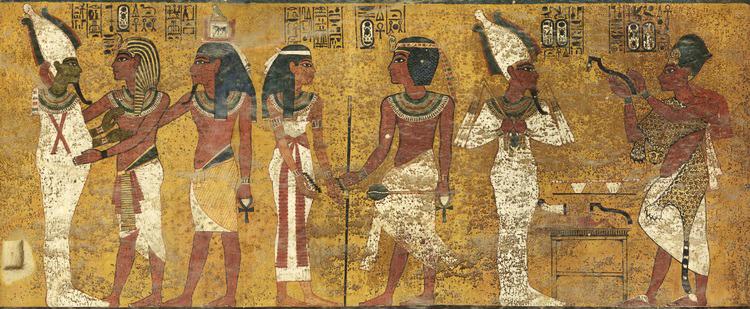 Tut tomb wall 1
