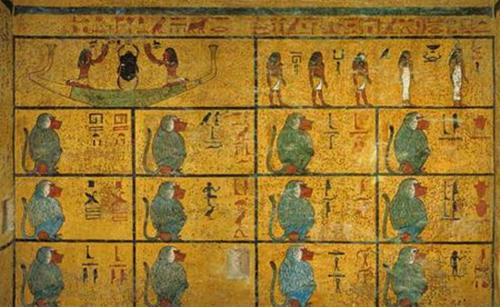 Tut tomb wall 2