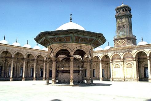 Clock in Cairo Citadel