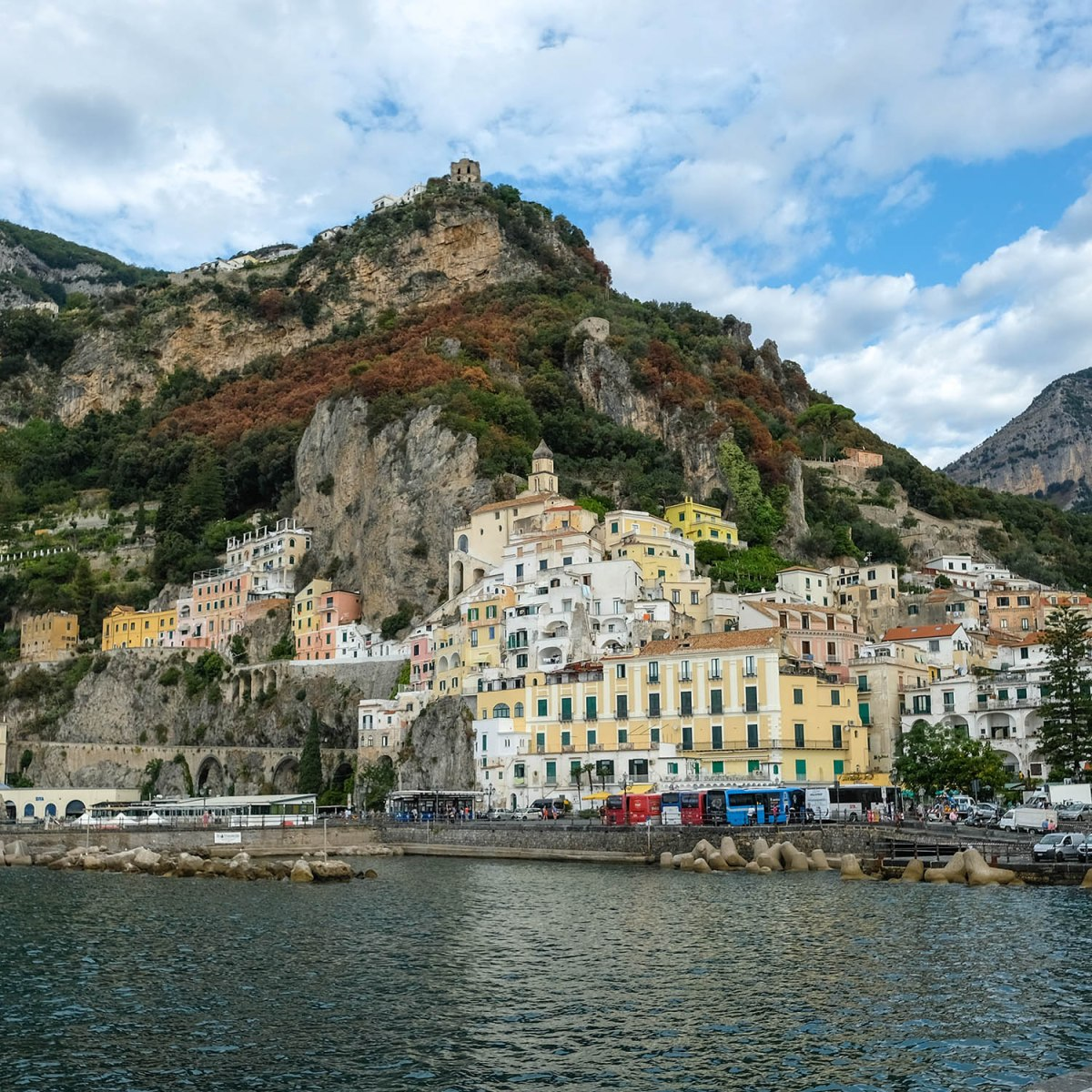อิตาลีอีกครั้ง (ตอน 2) : ริมชายฝั่ง Amalfi