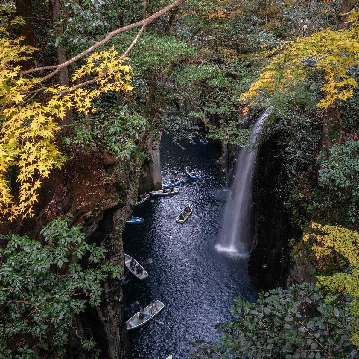 เสน่ห์คิวชู (1) : Takachiho Gorge